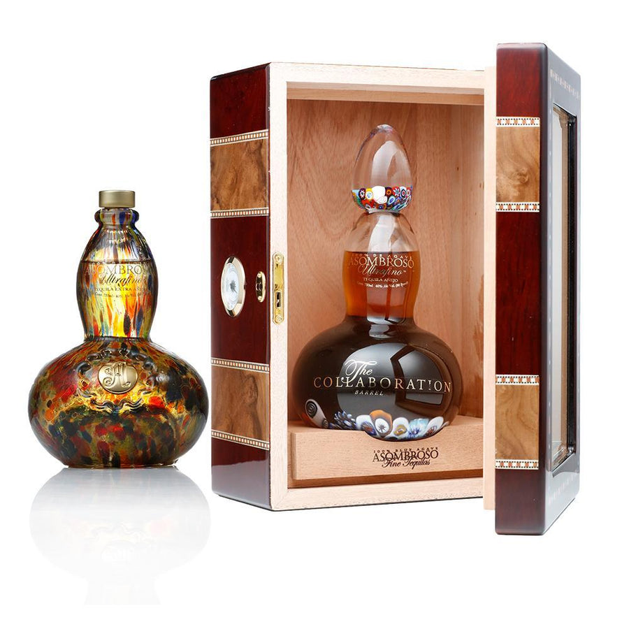 the collaboration silver oak rested extra anejo asombroso tequila buy online