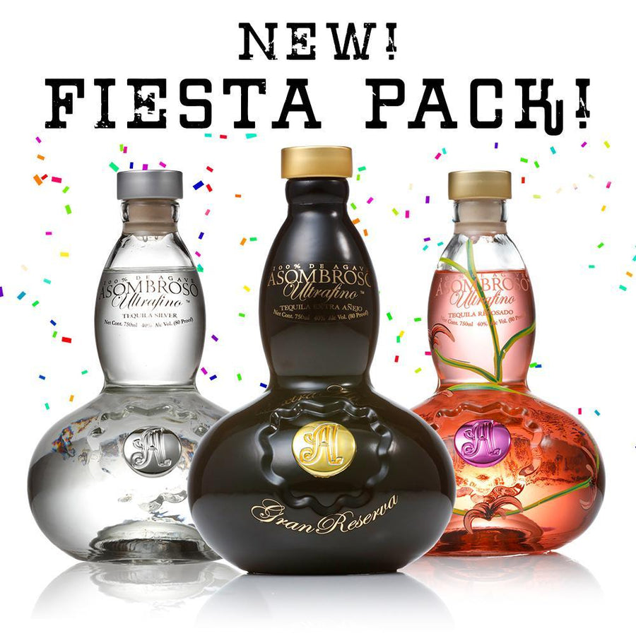 50% Off-New Fiesta Pack- Gran Reserva, La Rosa and El Platino 750ml