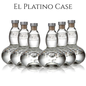 El Platino Blanco Tequila Case Set AsomBroso Order Online Free Shipping