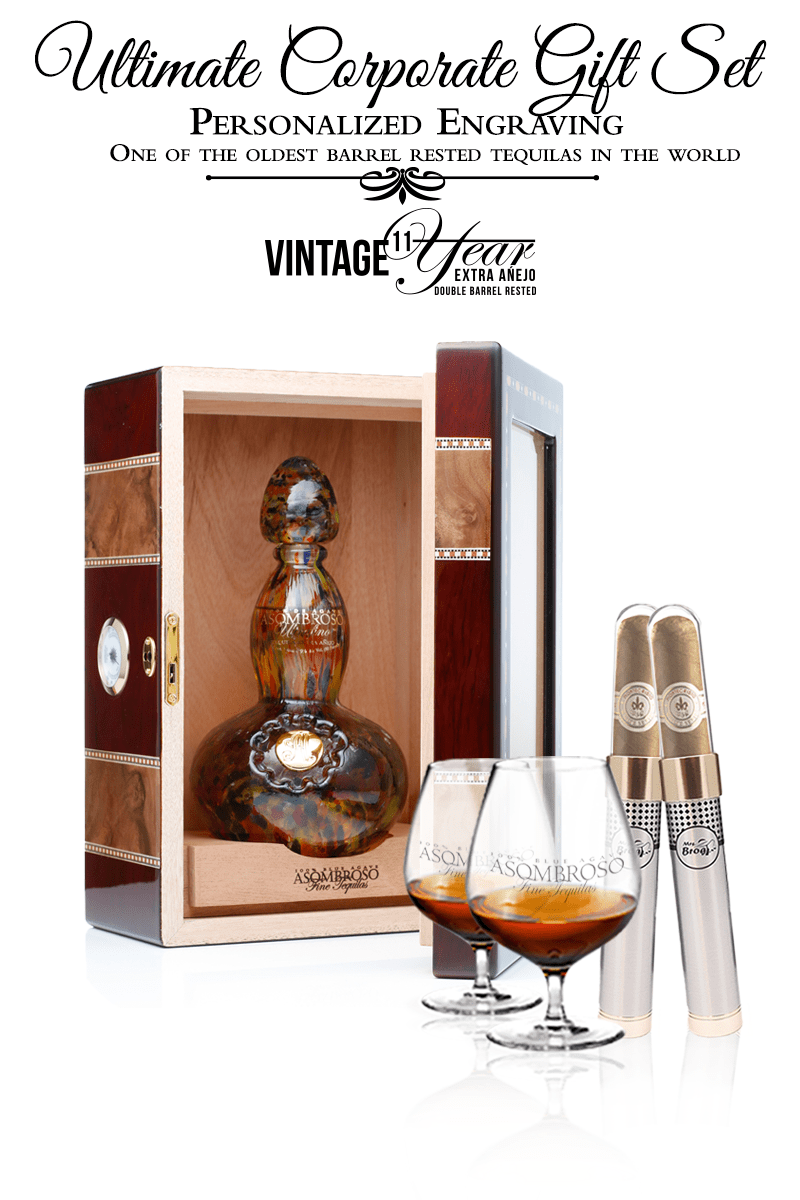 Corporate Gift Set - Vintage 11 year Extra Anejo w/Cigar