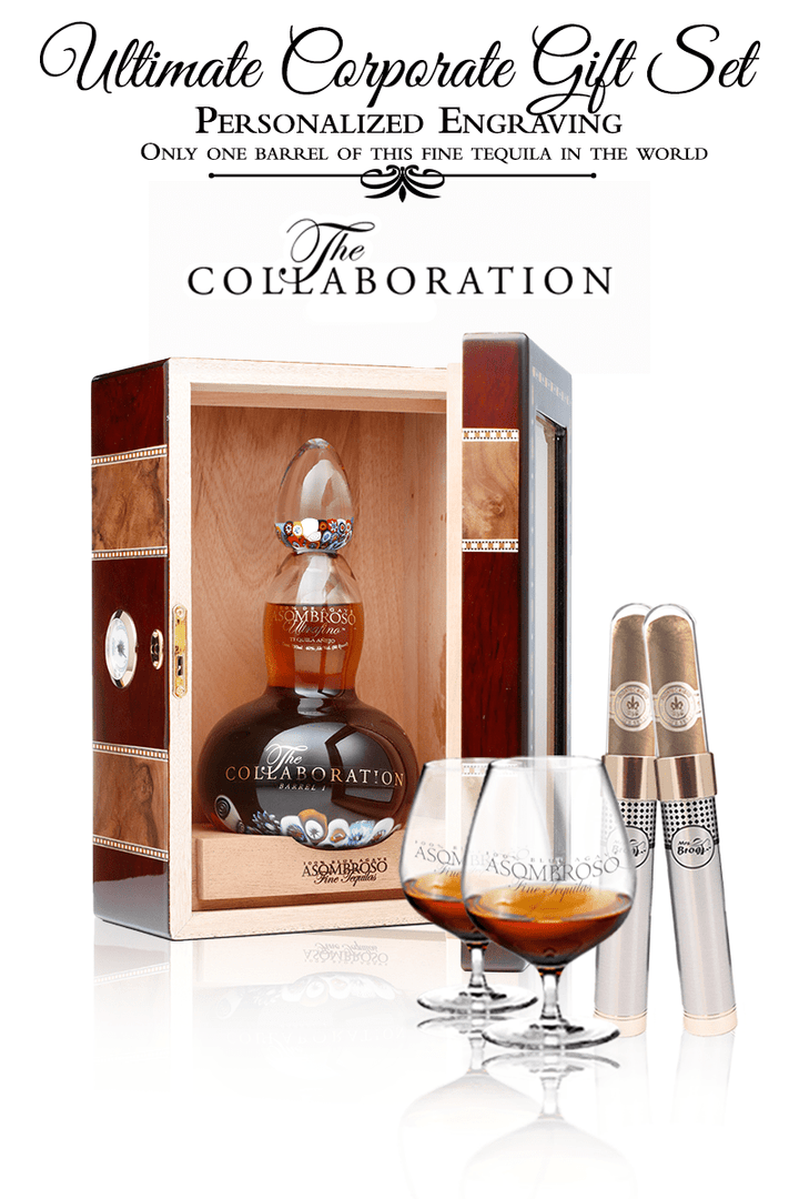 "Corporate Gift Set - ""The Collaboration"" Extra Anejo w/Cigar"