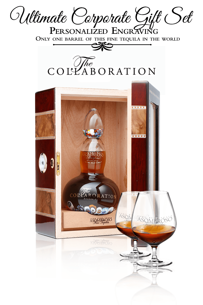 "Corporate Gift Set - ""The Collaboration"" Extra Anejo"