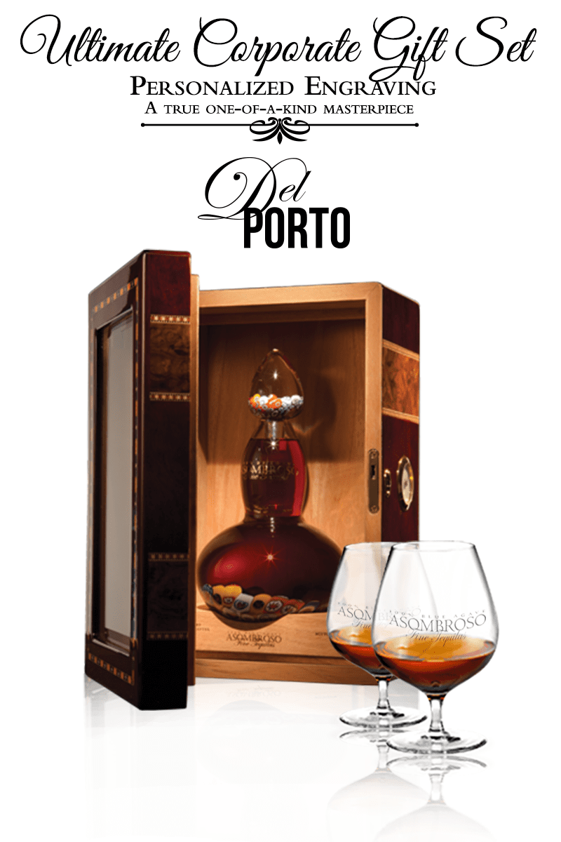 Corporate Gift Set - Del Porto Extra Anejo