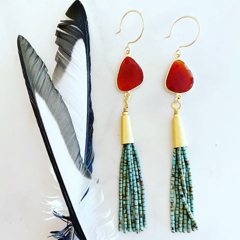 Summer's End Earrings