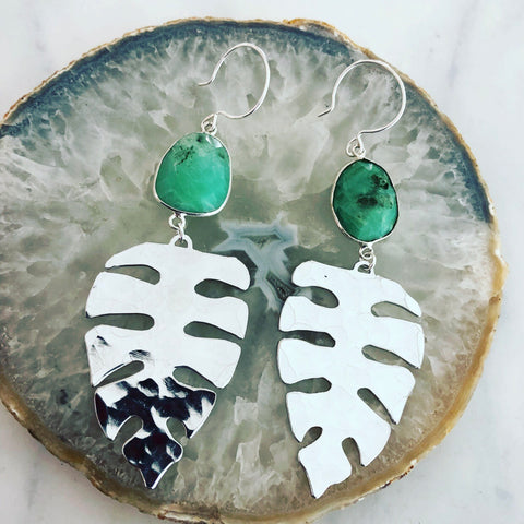 Silver Kauai Earrings
