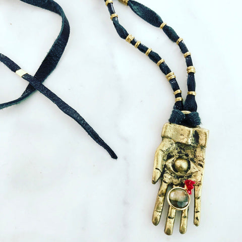 The Keeper Necklace- Black