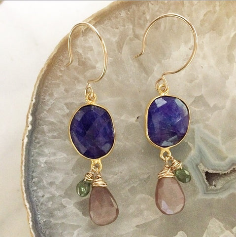 September Drop Earrings