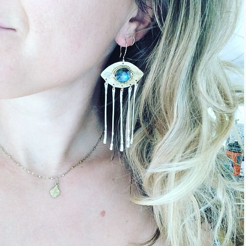 Labradorite Freida Earrings
