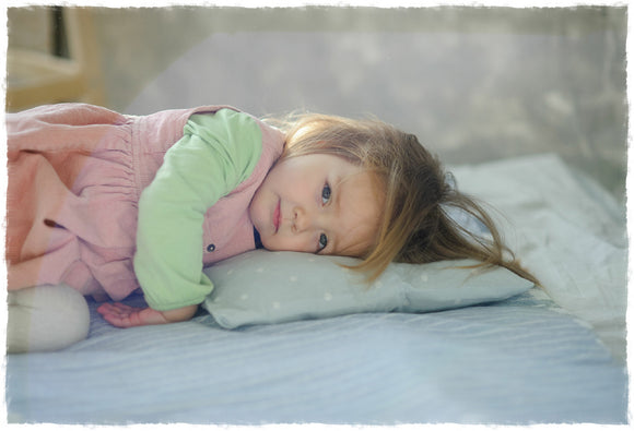 Baby's First Organic Pillow with Adjustable Loft Feature 10x16 by A Little Pillow Company, Eco-Friendly, Made in the USA