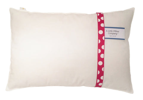 Toddler Pillow from A Little Pillow Company