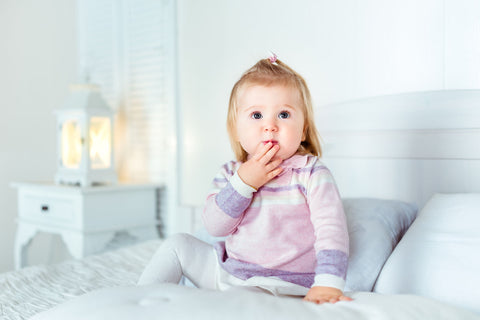 At what age should I give my baby or toddler a pillow by A Little Pillow Company