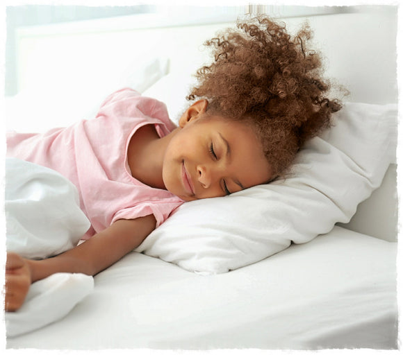 Eco-Friendly Hypoallergenic Youth Pillow 18x24 from A Little Pillow Company. Machine Washable. Made in USA.