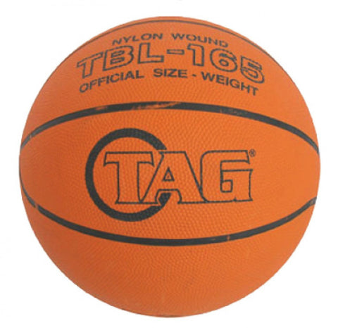 TAG Adult Rubber Basketball