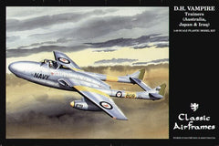 Classic Airframes 1/48 D.H. Vampire Trainers (Australia, Japan & Iraq) | AF0494