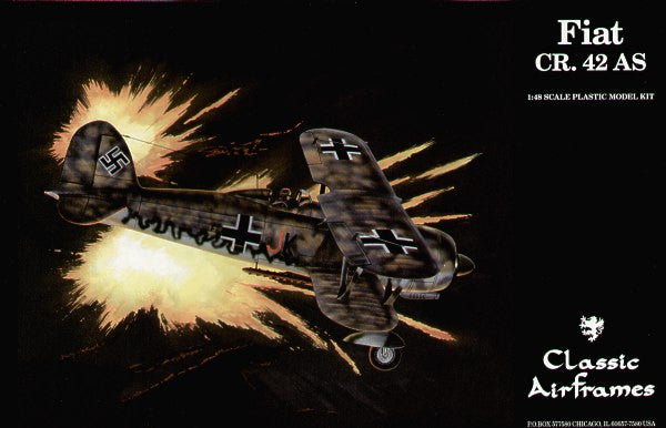 Classic Airframes 1/48 Fiat CR.42 AS | AF0496