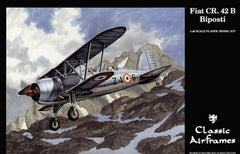Classic Airframes 1/48 Fiat CR.42B Biposti 'Two Seater' | AF0499