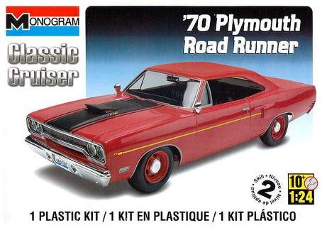 Monogram 1/24 1970 Plymouth Road Runner | MONO85-0892