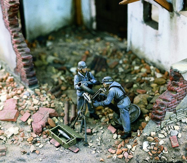 Verlinden 1/35 German Heavy Mortar Team | VER1003
