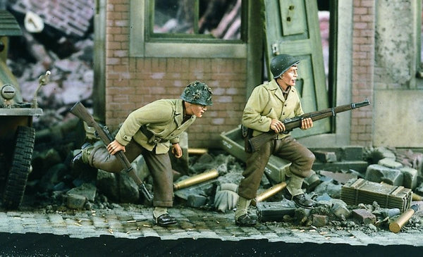 Verlinden 1/35 US Infantry Running WWII   | VER1712