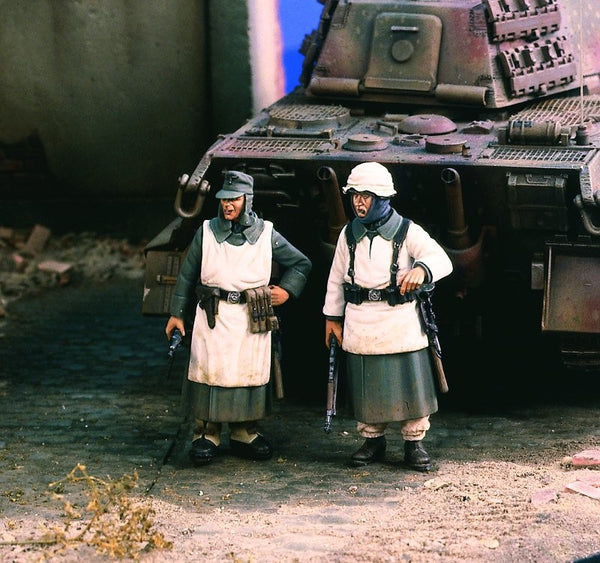 Verlinden 1/35 German Infantry Snow Dress  | VER1840