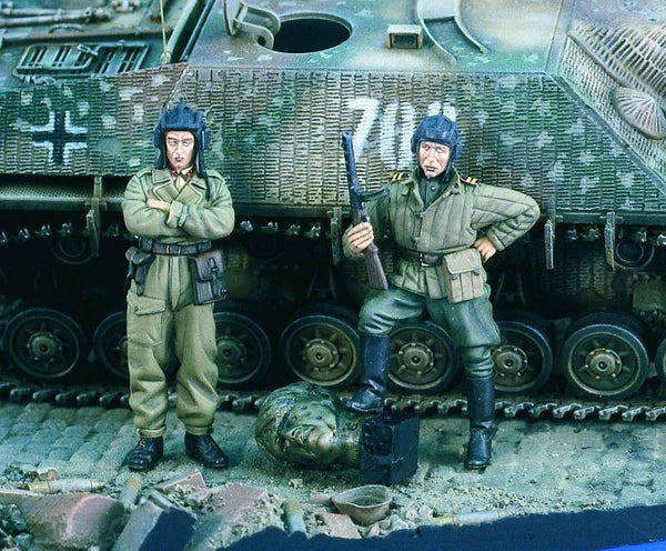 Verlinden 1/35 Russian Tank Men WWII  | VER1895
