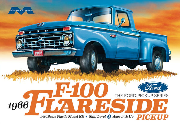 1966 Ford F-100 Flareside Pickup Moebius Models | No. 1232 | 1:25