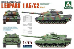 Takom 1/35 Main Battle Tank Leopard 1A5/C2 | 2004