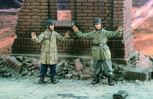 Verlinden 1/35 Game Over German Paras WWII  | VER2011