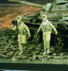 Verlinden 1/35 British MG Team Gulf Wars  | VER2037