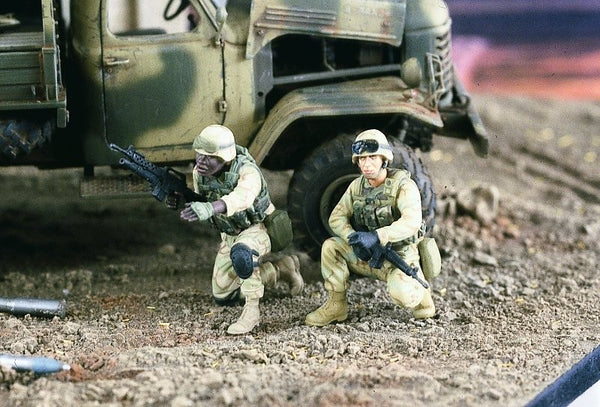 Verlinden 1/35 US Infantry Iraq (2 Figures)  | VER2183