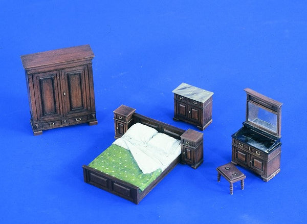 Verlinden 1/35 Full Bedroom Furniture  | VER2218