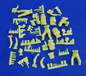 Verlinden 1/35 US Special Forces Set Iraq / Afghanistan Figure Conversion Parts | VER2473