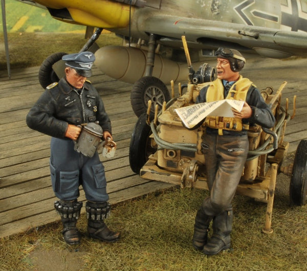 Verlinden 1/35 Jagdflieger 3 Coffee Time  | VER2657