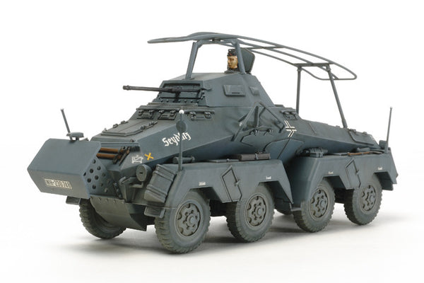 Tamiya 1/48 German 8-Wheeled Sd.Kfz.232 - Heavy Armored Car  | TAM32574
