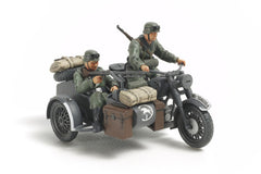 Tamiya 1/48 German Motorcycle/Sidecar  | TAM32578