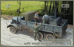 IBG 1/35 Einheitsdiesel with small field kitchen Hf. 14 | IBG35007