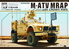 Panda 1/35 M-ATV MRAP with CROW II RWS | 35007