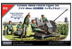 Tristar 1/35 German 20mm Flak38 Figure Set | 35013