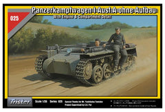 Tristar 1/35 Panzerkampfwagen I Ausf.A ohne Aufbau With Engine & Compartment Detail | 35025