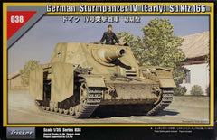 Tristar 1/35 German Sturmpanzer IV (Early) Sd.Kfz. 166  | 35038