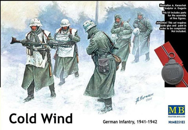 Master Box 1/35 Cold Wind German Infantry, 1941-1942 | MB35103