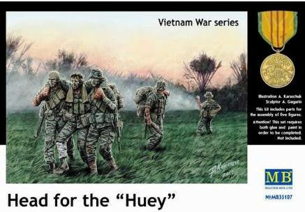 Master Box 1/35 Head for the Huey Vietnam war series | MB35107