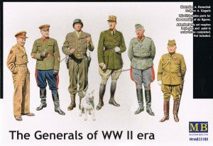 Master Box 1/35 The Generals of WW II era | MB35108