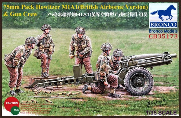 Bronco 1/35 75mm Pack Howitzer M1A1 | 35173