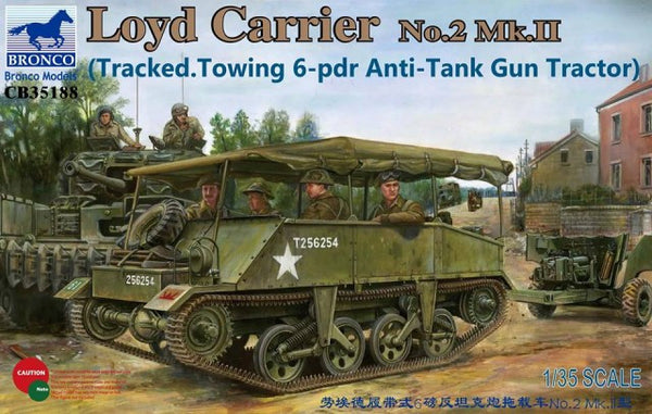 Bronco 1/35 Loyd Carrier No.2 Mk.II | 35188