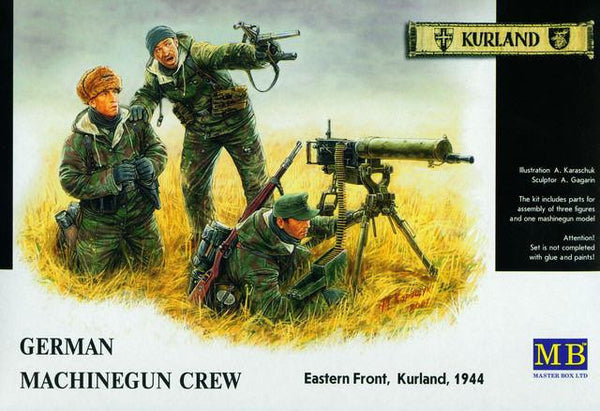 Master Box 1/35 German Machinegun Crew Eastern front, Kurland, 1944 | MB3526