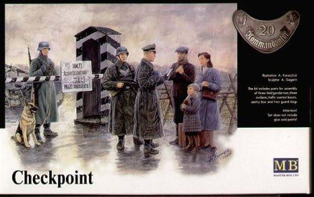 Master Box 1/35 Checkpoint | MB3527