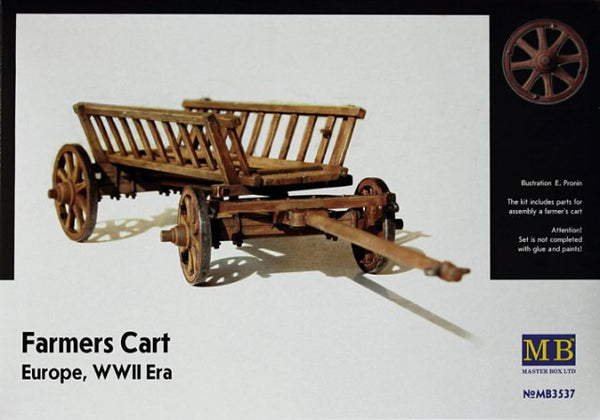 Master Box 1/35 Farmers Cart Europe, WWII Era | MB3537