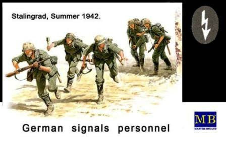 Master Box 1/35 German Signals Personnel Stalingrad, Summer 1942 | MB3540