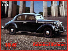 ICM 1/35 Admiral Saloon WWII German Staff Car | 35472